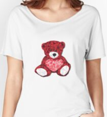 Valentines Bear Women's Relaxed Fit T-Shirt
