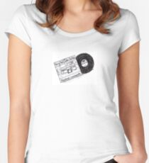 Abandoned Luncheonette - Hall & Oates - Vinyl Record Album - Art - Drawing Women's Fitted Scoop T-Shirt