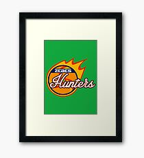 Zebes Hunters Framed Print