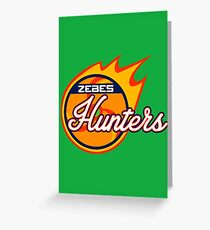 Zebes Hunters Greeting Card