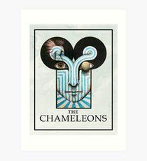 The Chameleons / Chameleons UK - Band Poster Art Print