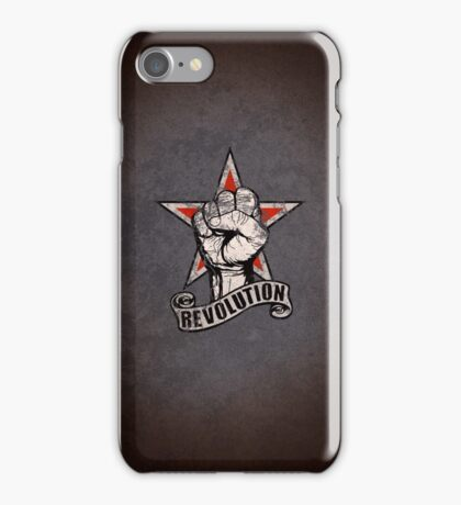 Up The Revolution! iPhone Case/Skin