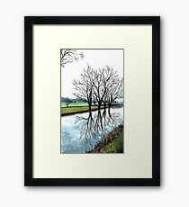 Countryside Landscape Framed Print