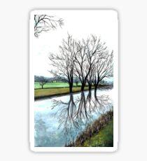 Countryside Landscape Sticker