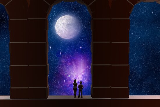 Somewhere in Time and Space by Carol and Mike Werner