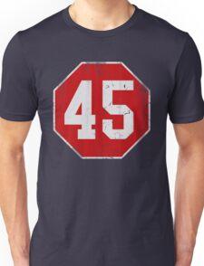 Stop 45 Anti Trump Protest Unisex T-Shirt