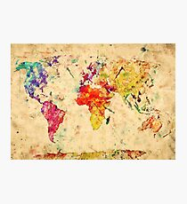 World in colors Photographic Print