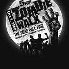 Zombie Walk - White by rubyred