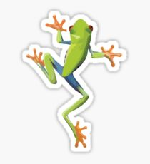 Greenery tree-frog Sticker