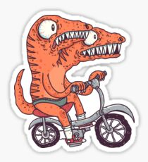 Jurassic Bike Sticker