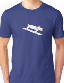 Henry Hound - Snow boarding dog Unisex T-Shirt