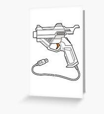 Dreamcast Light Gun Greeting Card