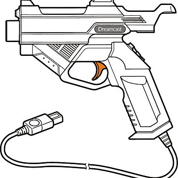 Dreamcast Light Gun by saschagrant