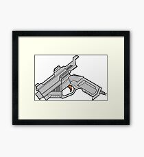 Dreamcast Packing Heat Framed Print