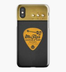 McFly's Repairs - Orange iPhone Case