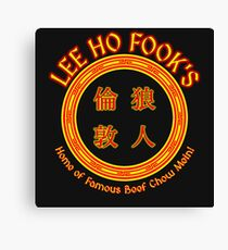 Lee Ho Fook's Canvas Print