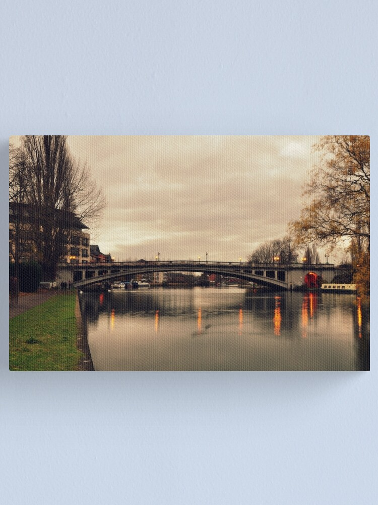 Alternate view of Crossing Canvas Print