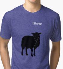 iSheep (Green) Tri-blend T-Shirt