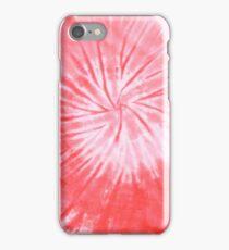 Red Tie Dye iPhone Case/Skin