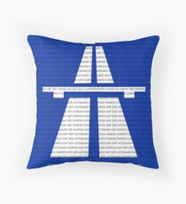 Autobahn Throw Pillow