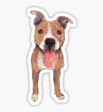 Pitbull Steeley Sticker Sticker