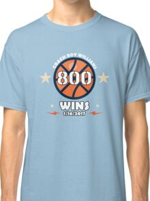 COACH ROY WILLIAMS 800 WINS Shirt Classic T-Shirt