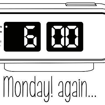 Monday! Again...(line) by irideocrea