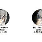 Besorgter Rotrückenpelikan by Thomas F. Gehrke