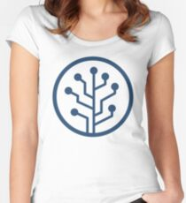 SourceTree Women's Fitted Scoop T-Shirt