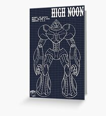 Schematic: High Noon Greeting Card