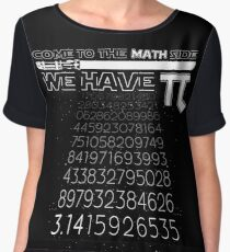 Come To The Math Side We Have Pi Funny Pi Day 2017 Shirt Chiffon Top