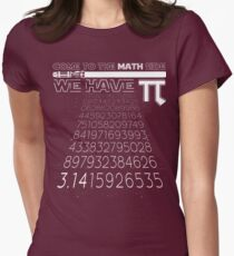 Come To The Math Side We Have Pi Funny Pi Day 2017 Shirt Women's Fitted T-Shirt