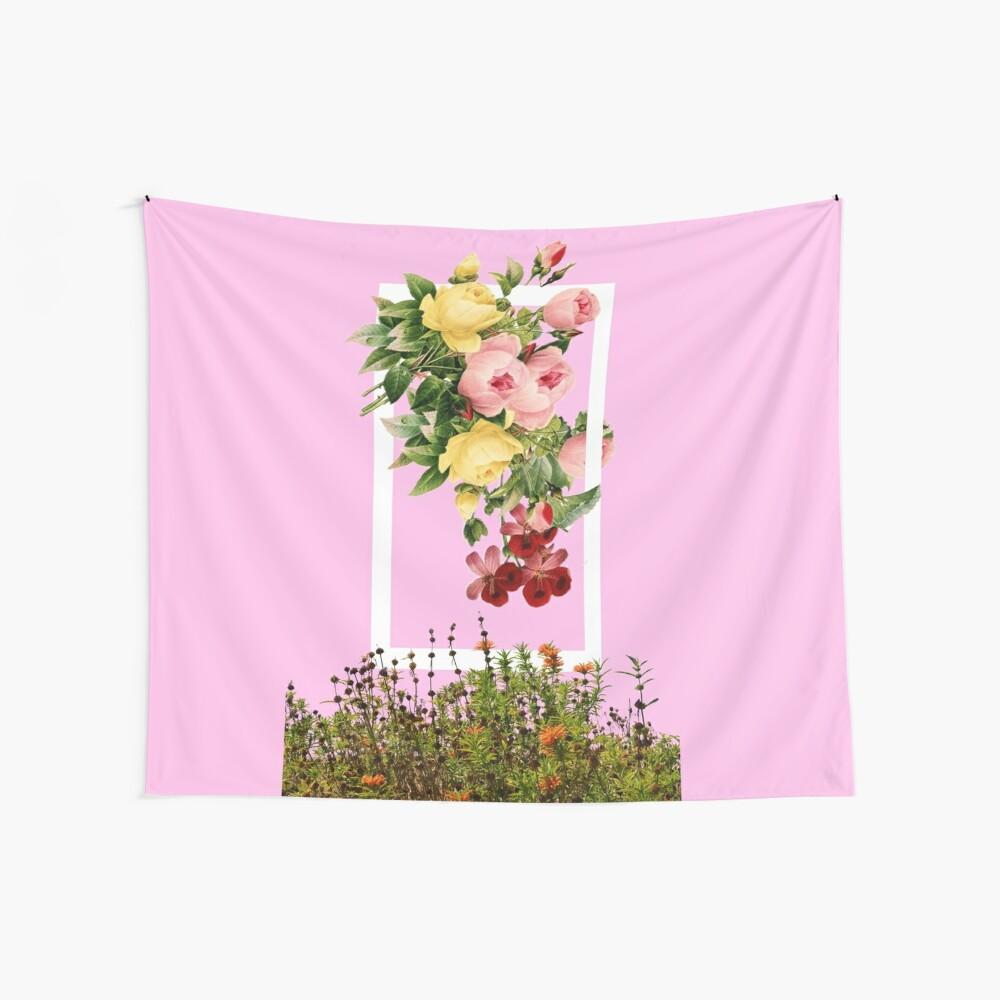 Blumen Wandbehang