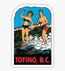 Tofino British Columbia Vintage Travel Decal Sticker