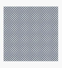 Cool Black Polka Dots Photographic Print