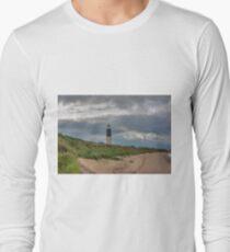 Spurn Point Lighthouse Long Sleeve T-Shirt