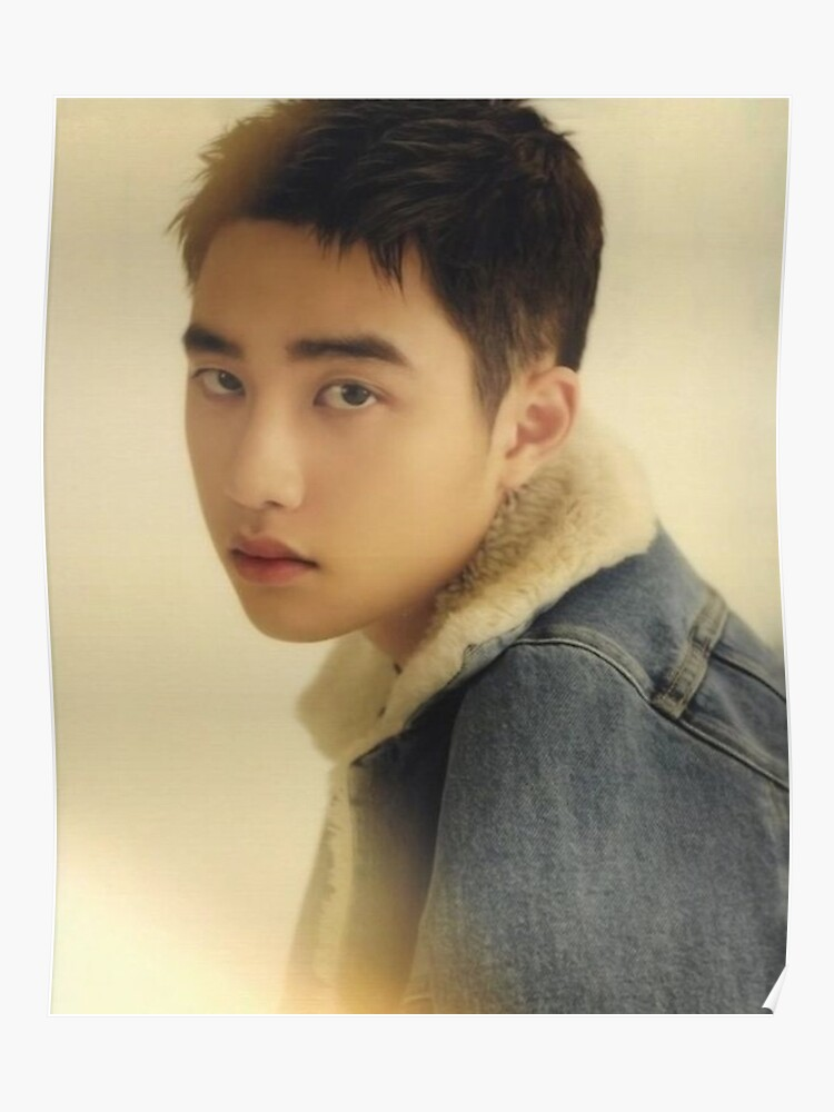 D O Do Kyungsoo Exo For Life Poster