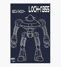 Schematic: Loch-N355 Photographic Print