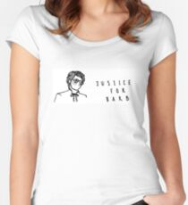 Justice for Barb Women's Fitted Scoop T-Shirt