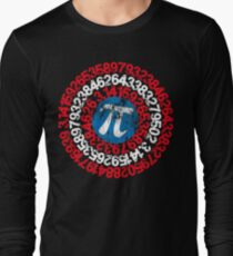 Captain Pi Funny Pi Day 2017 Superhero Style for Math Geeks and Nerds T-Shirt