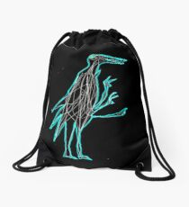 GUTS BIRD Drawstring Bag