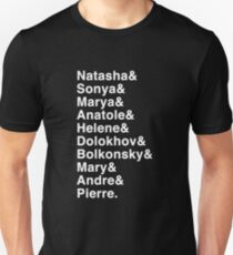 Names - Natasha, Pierre, and the Great Comet of 1812 T-Shirt