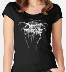 Darkthrone, logo, shirt, camiseta Women's Fitted Scoop T-Shirt