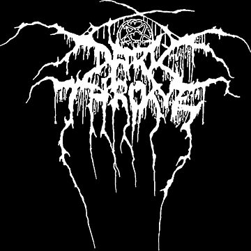 Darkthrone, logo, shirt, camiseta by darkfolk