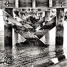 Under The Pier by Amanda Vontobel Photography/Random Fandom Stuff