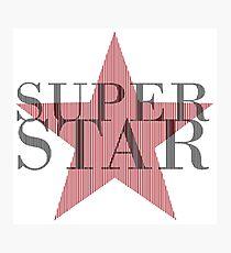 superstar [mdna] Photographic Print