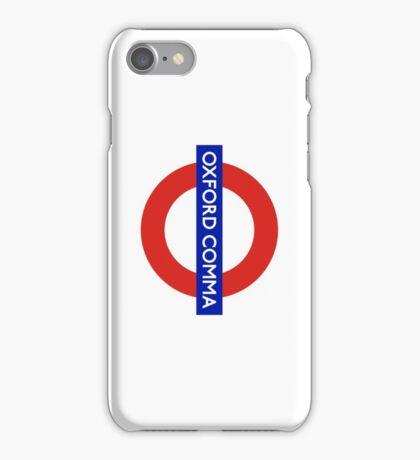 Oxford Comma iPhone Case/Skin