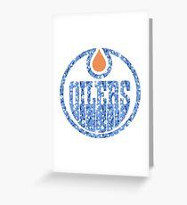 #softmonton Oilers Greeting Card
