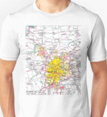Atlanta Map T-Shirt