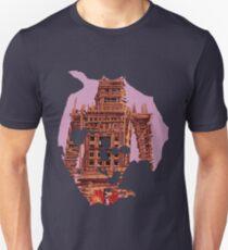 Radiohead - Burn the Witch Wicker Man (Purple) T-Shirt